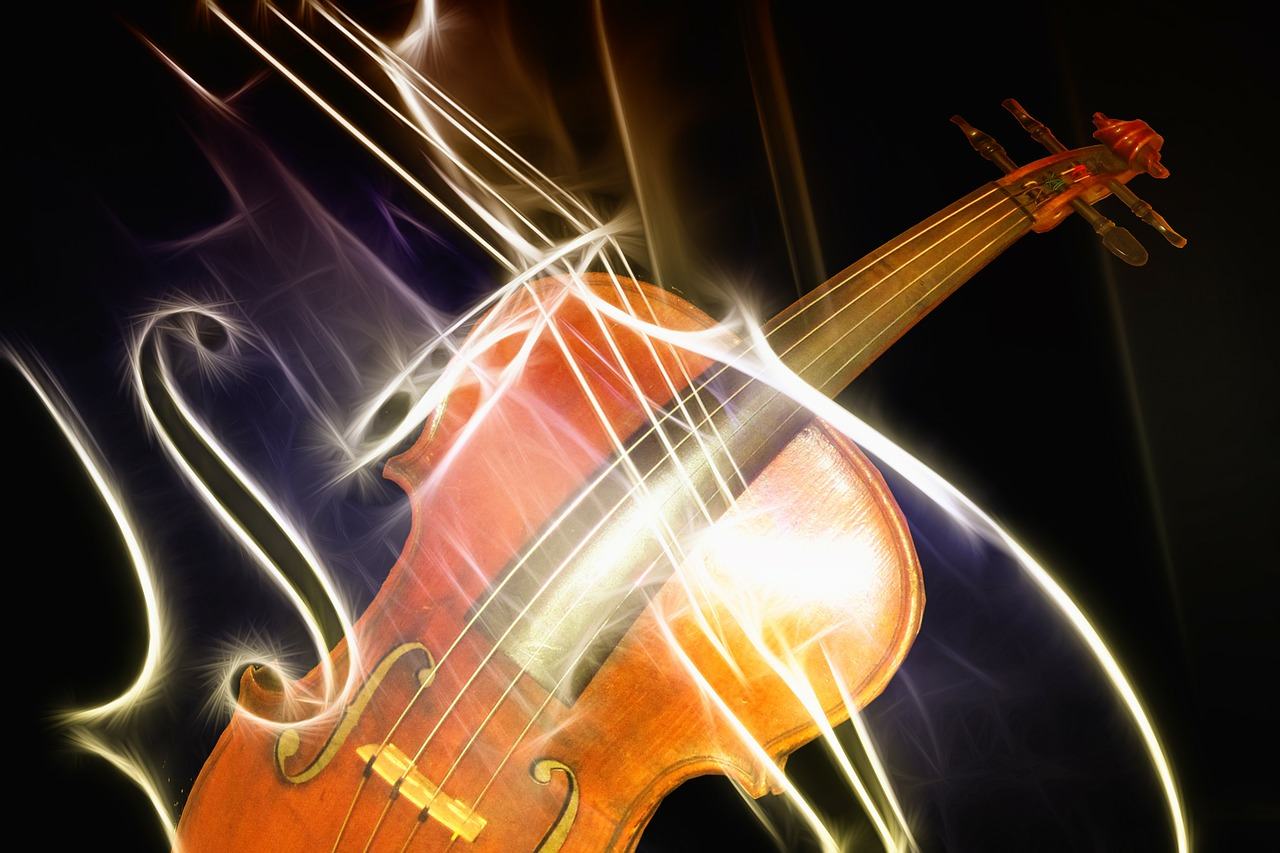violin instrument music free photo