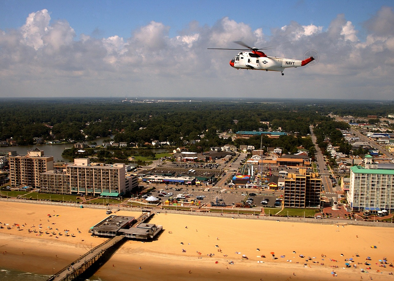 virginia beach town city free photo