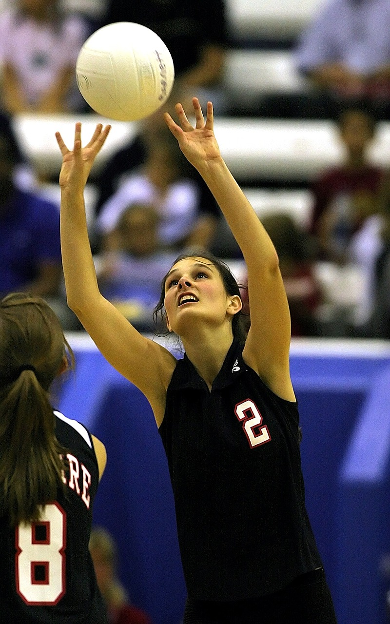 volleyball teenager girls volleyball free photo