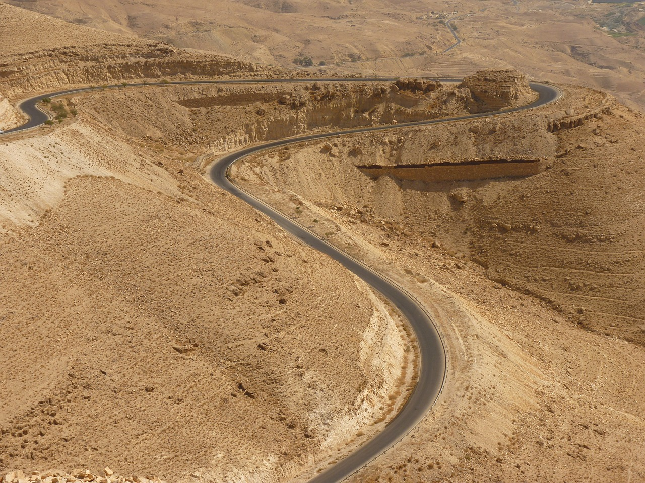 wadi mujib jordan holiday free picture