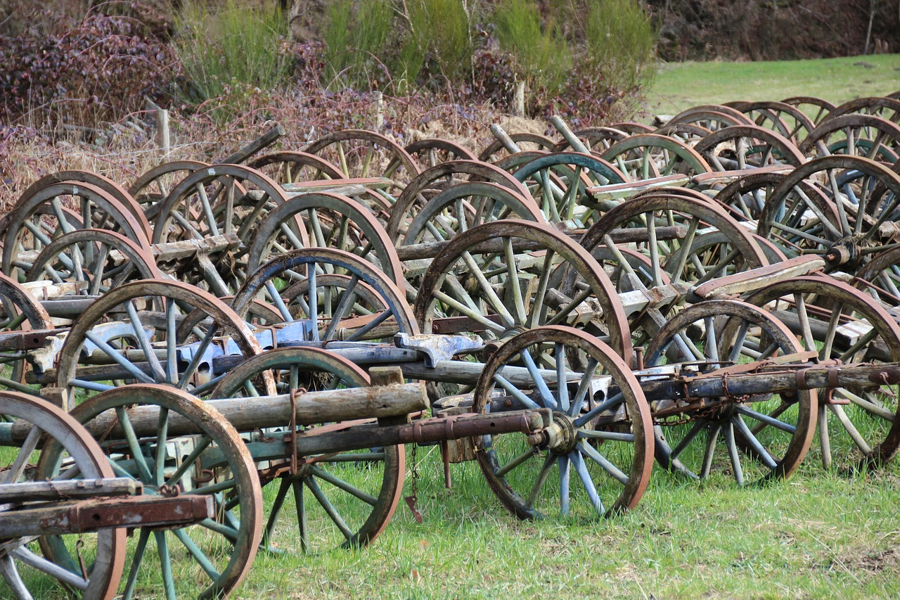 wagon wheel wheels collection free photo