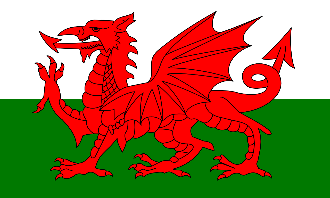 wales flag country free photo