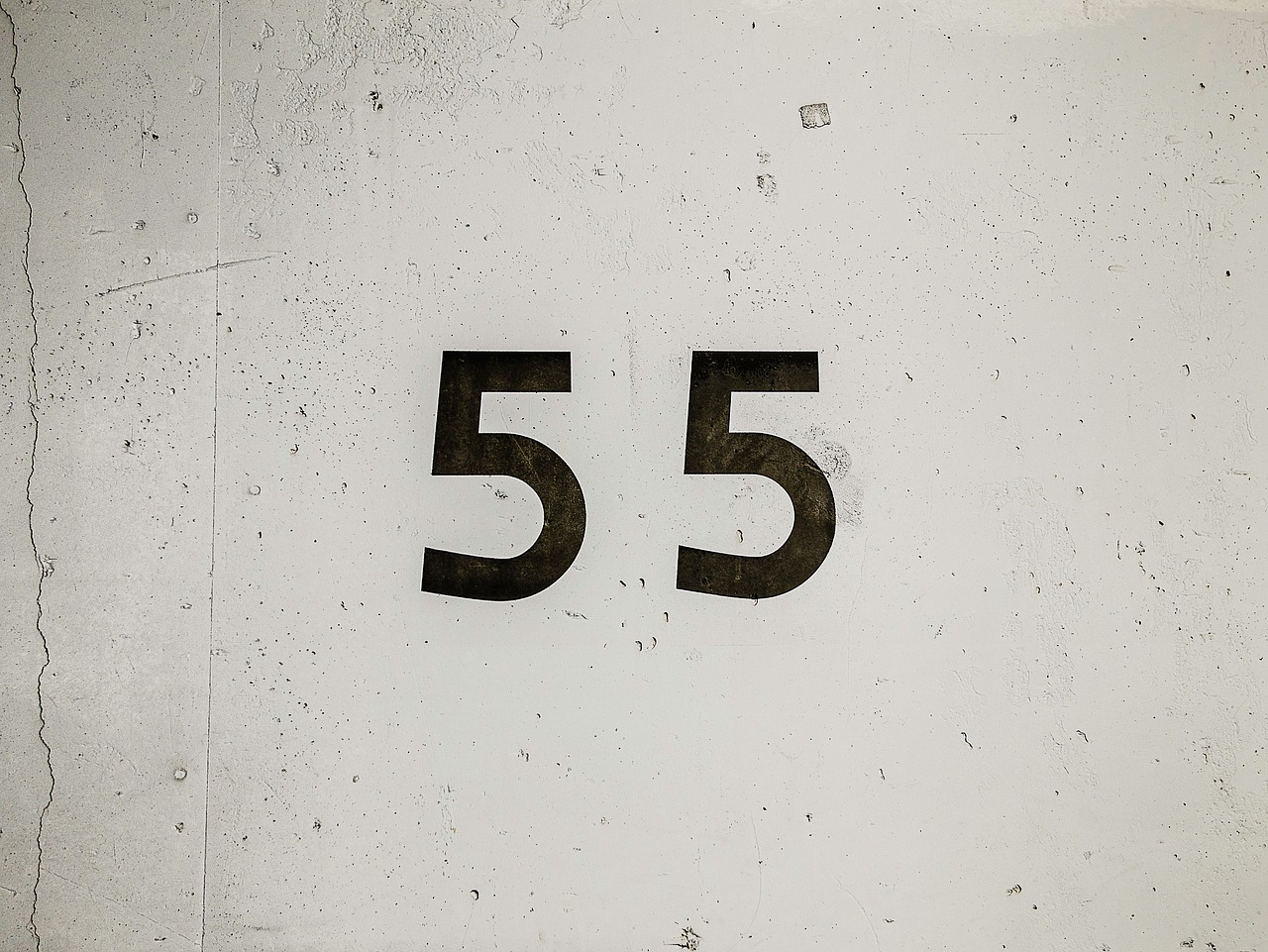 wall number count free photo