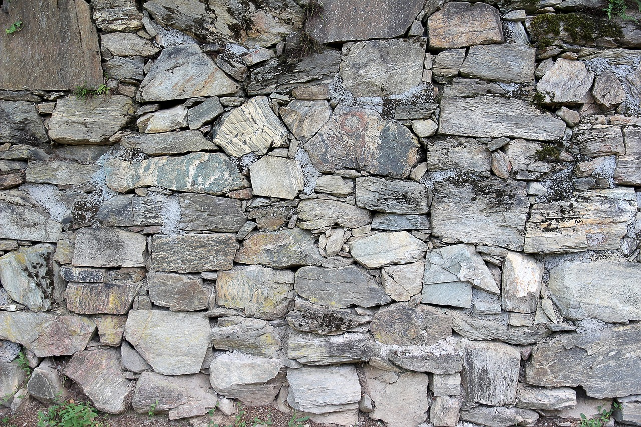 Natural Stone Structure : Wall stones background stone structure free photo