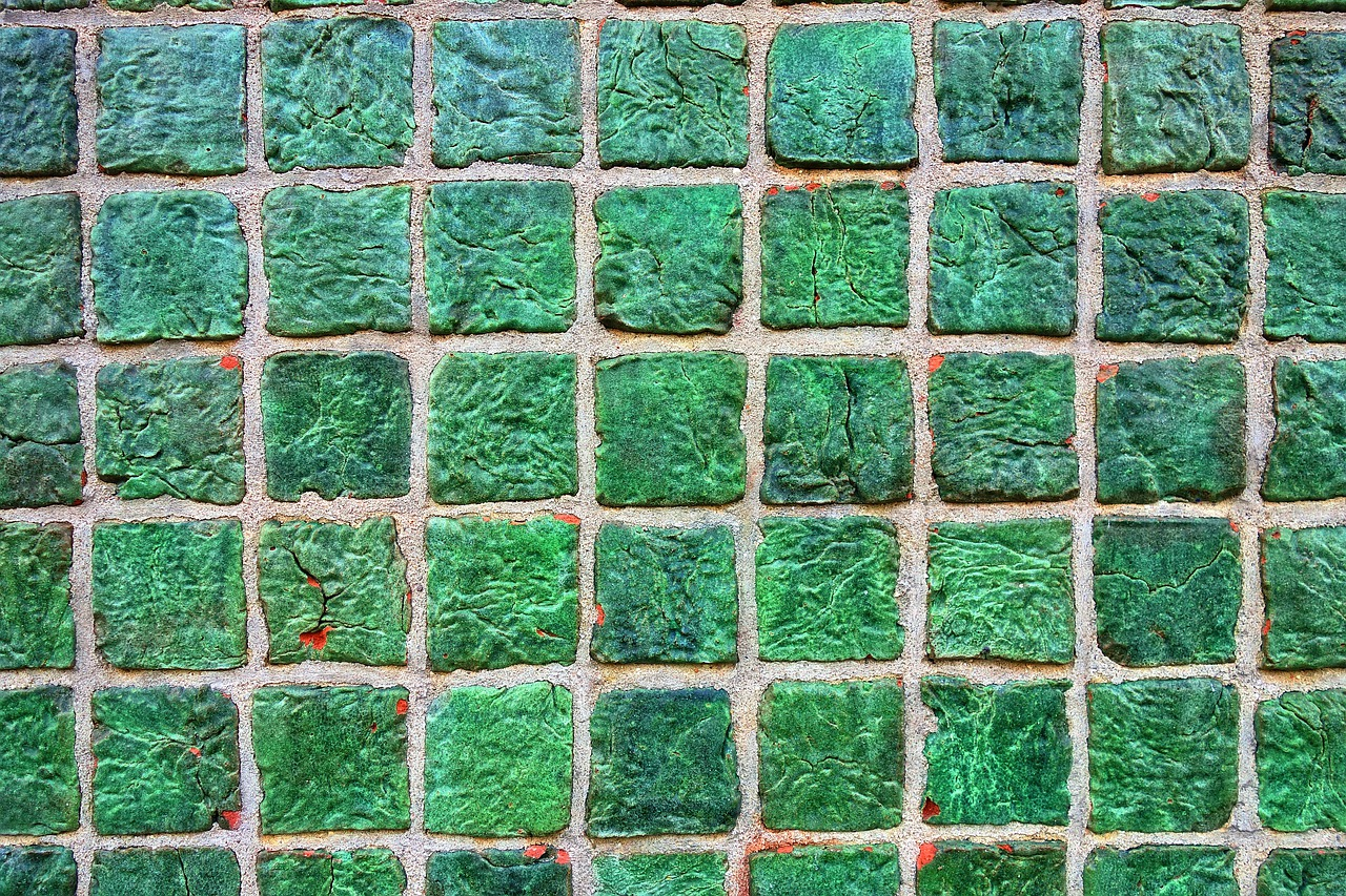 Wall,tiled wall,tiles,ceramic,green tiles - free photo from needpix.com