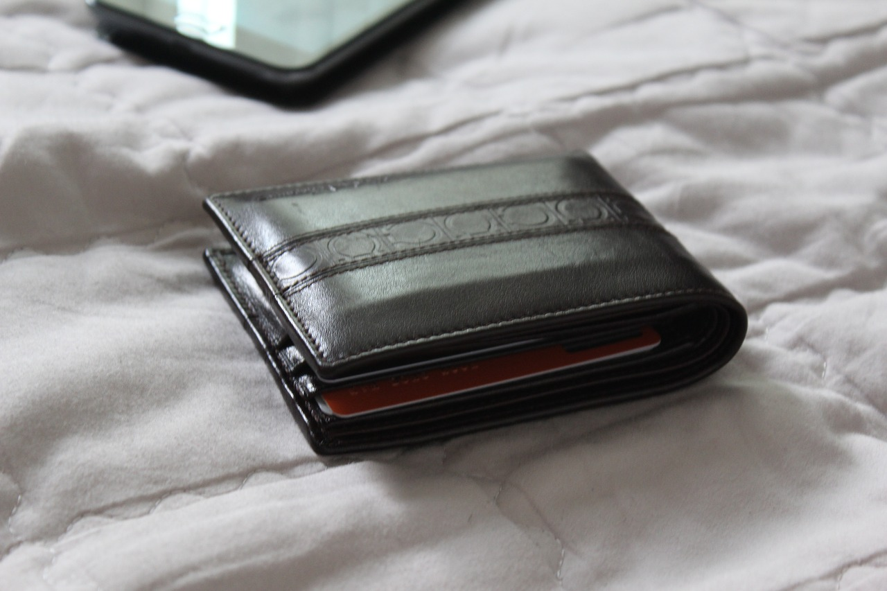wallet leather gift free photo