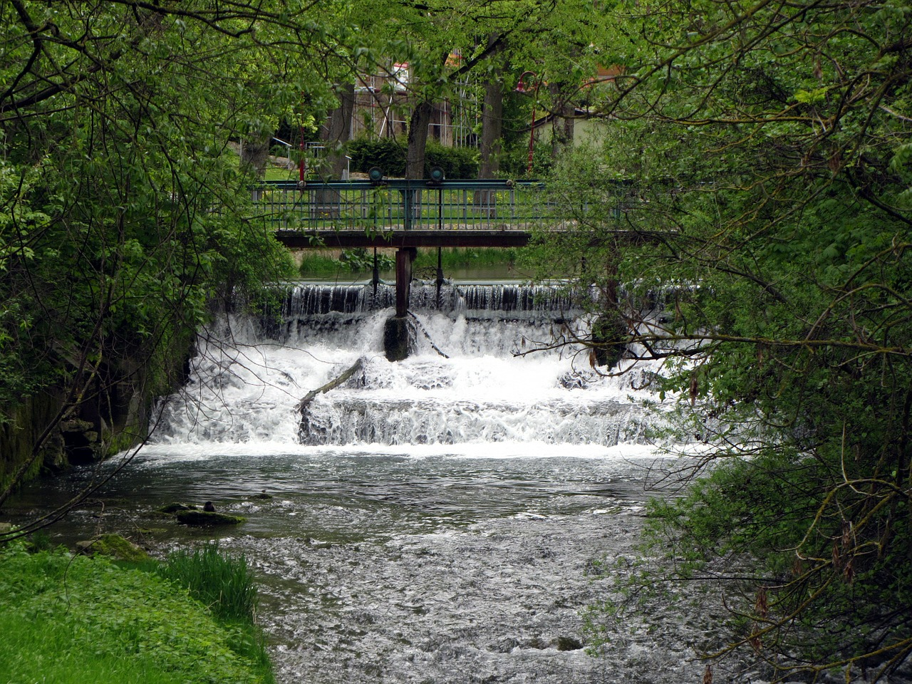 water bach weir free photo
