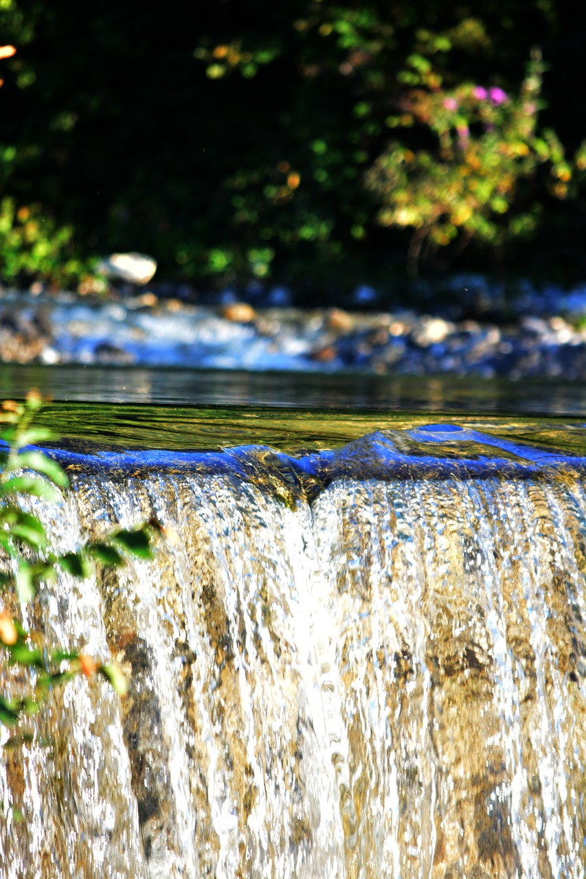 water level waterfall river free photo