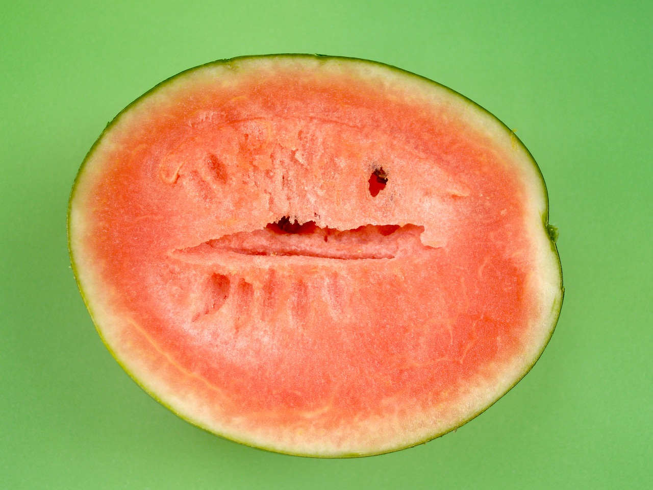 watermelon slice isolated free photo