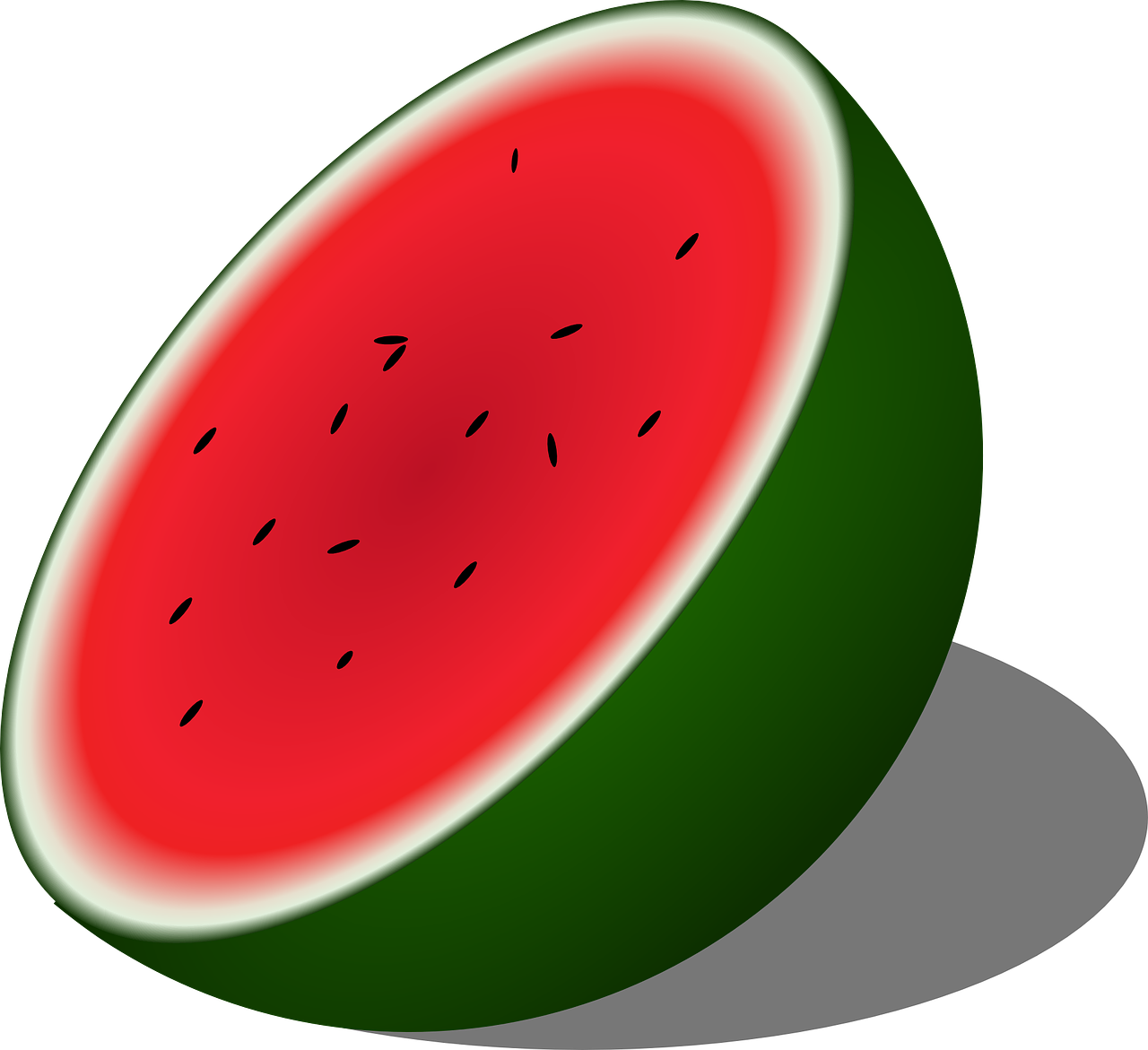 watermelon melon half free photo