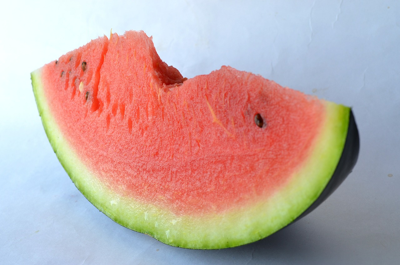watermelon melon cut free photo