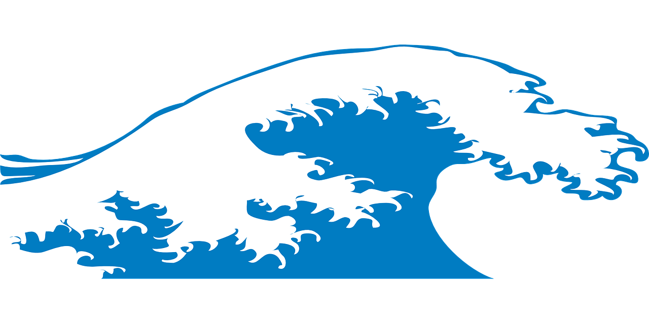 wave,sea,water,beach,ocean,crashing,nature,seascape,tropical,coast,vacation,storm,scene,coastline,tide,decoration,free vector graphics,free pictures, free photos, free images, royalty free, free illustrations, public domain
