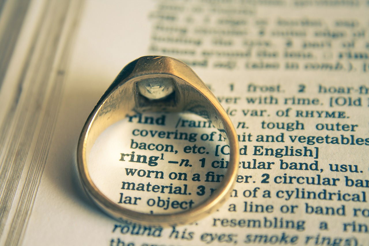 wedding ring ring dictionary free picture