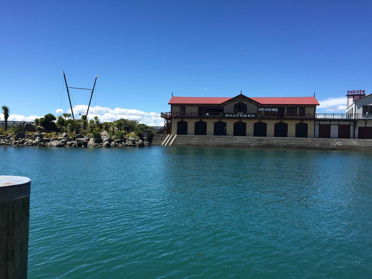 Wellington Waterfront Boat Shed Landmark Building Free