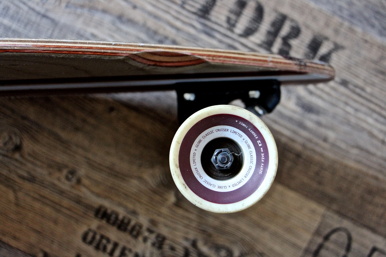 wheel axis longboard free photo