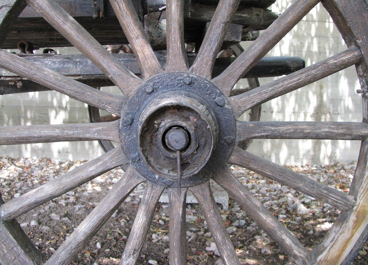 wheel wagon old free photo