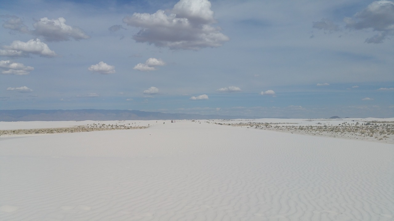 white sands new mexico national free photo