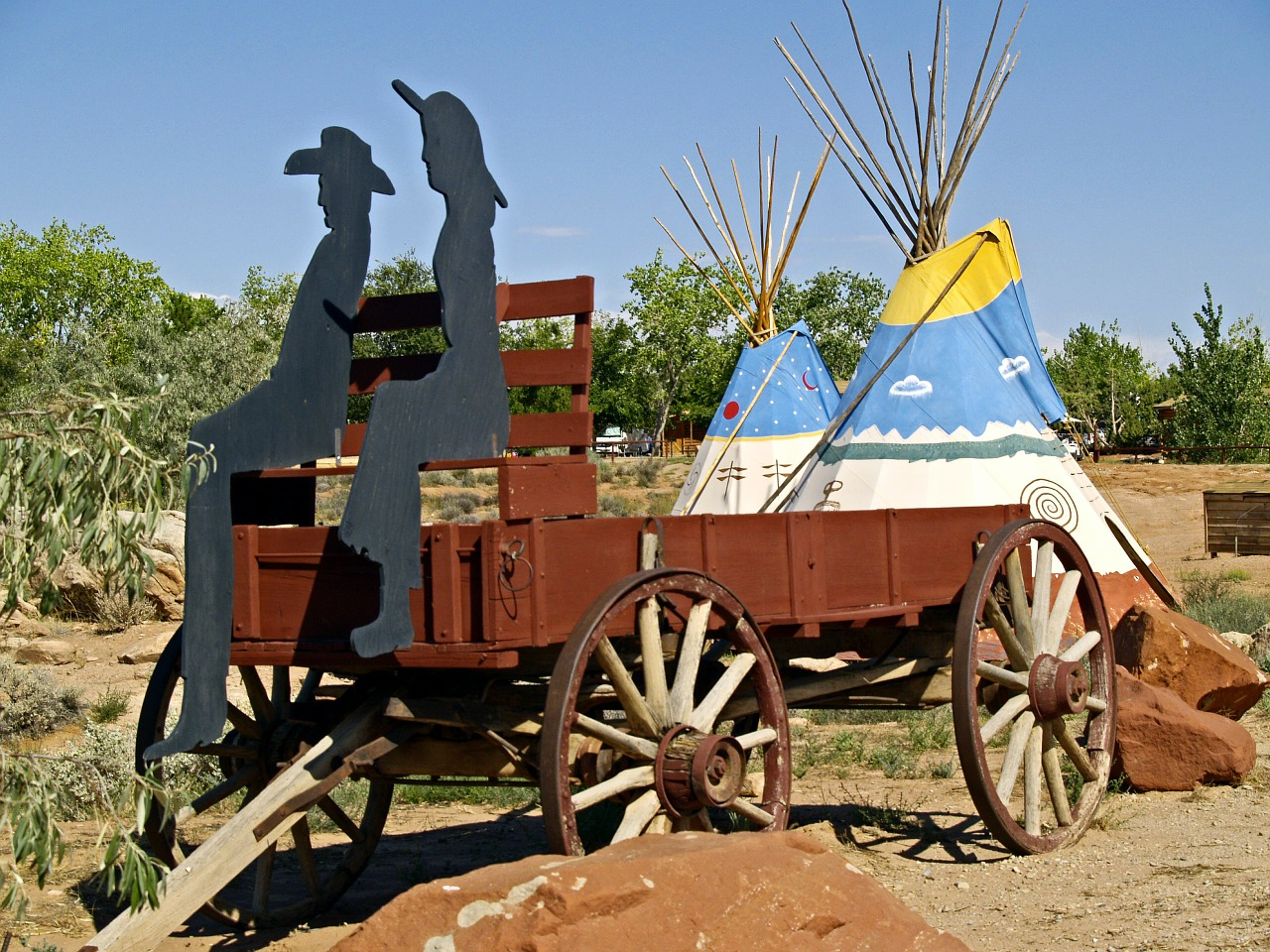 wild west wagon free photo