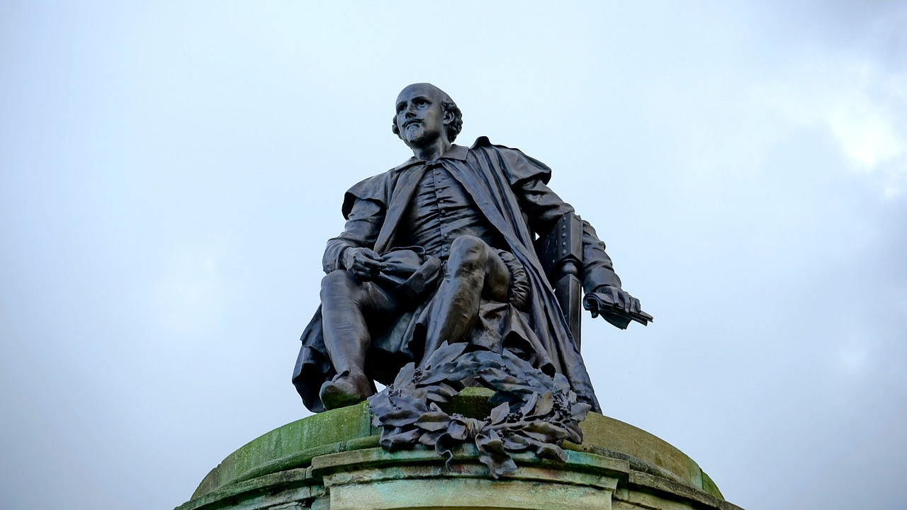 william shakespeare statue shakespeare free photo