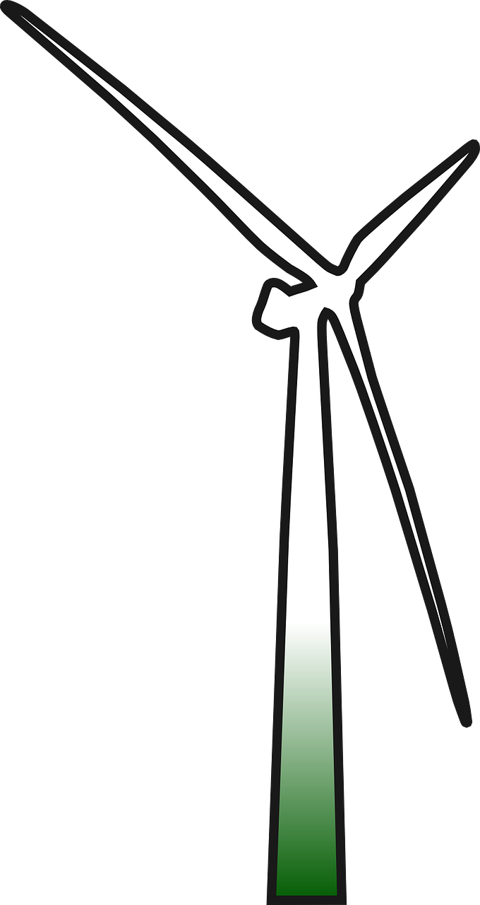 wind turbine power free photo