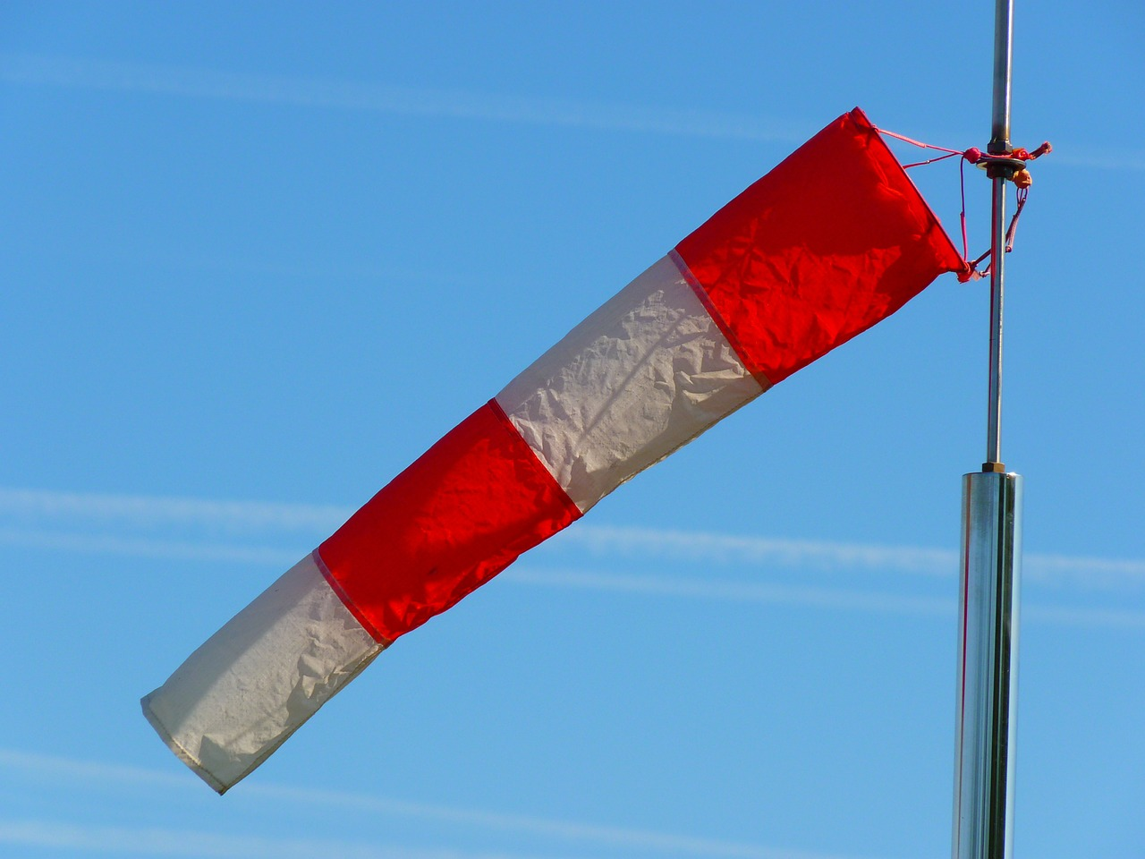 wind sock wind direction anemometer free photo