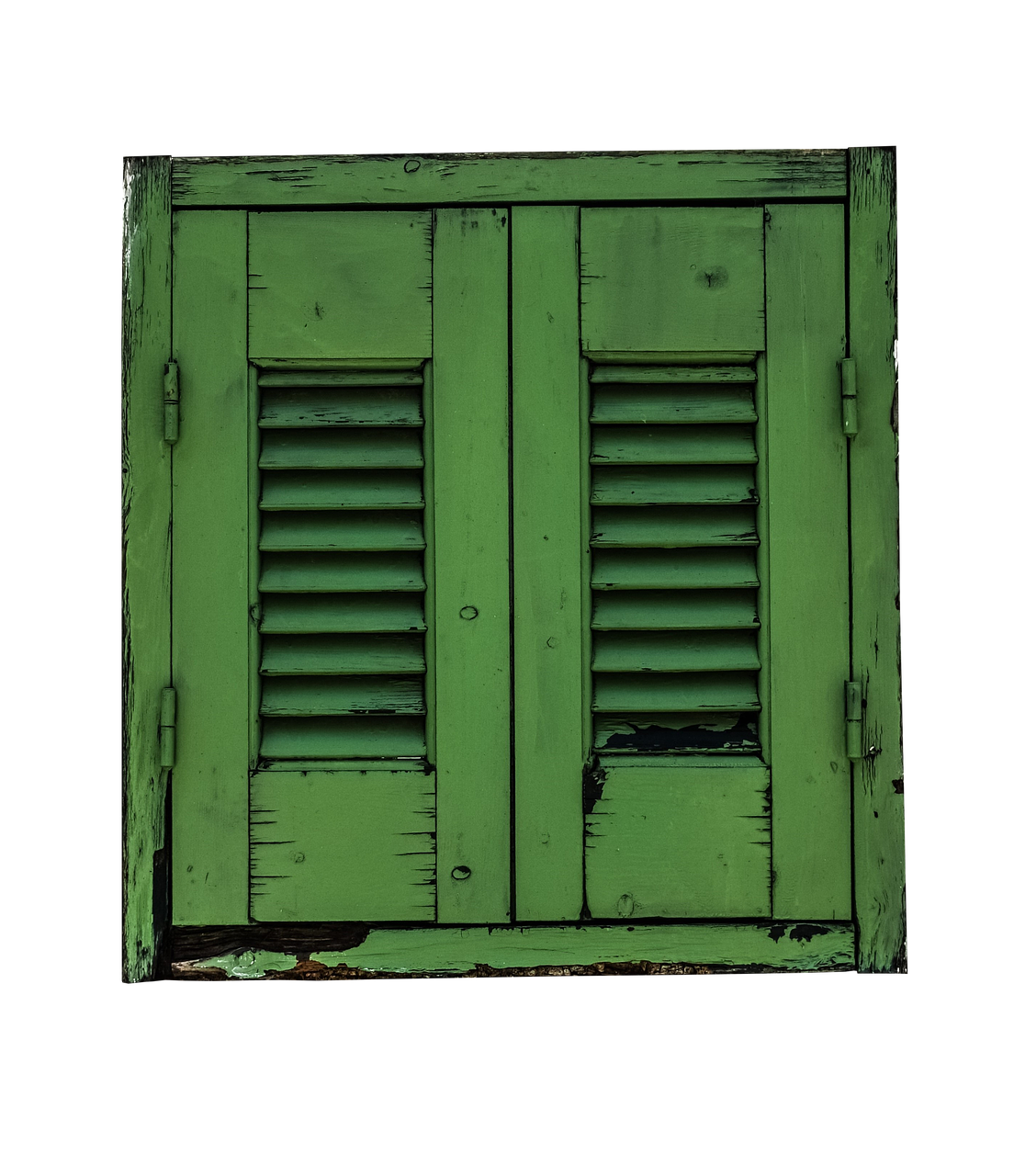 window shutter green free photo