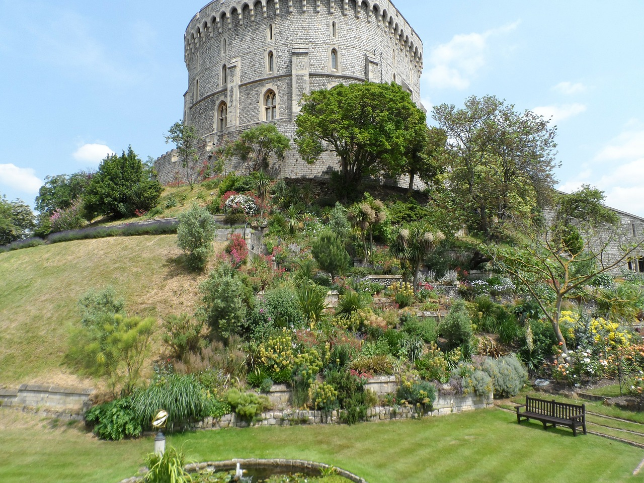 windsor castle castle architecture free photo