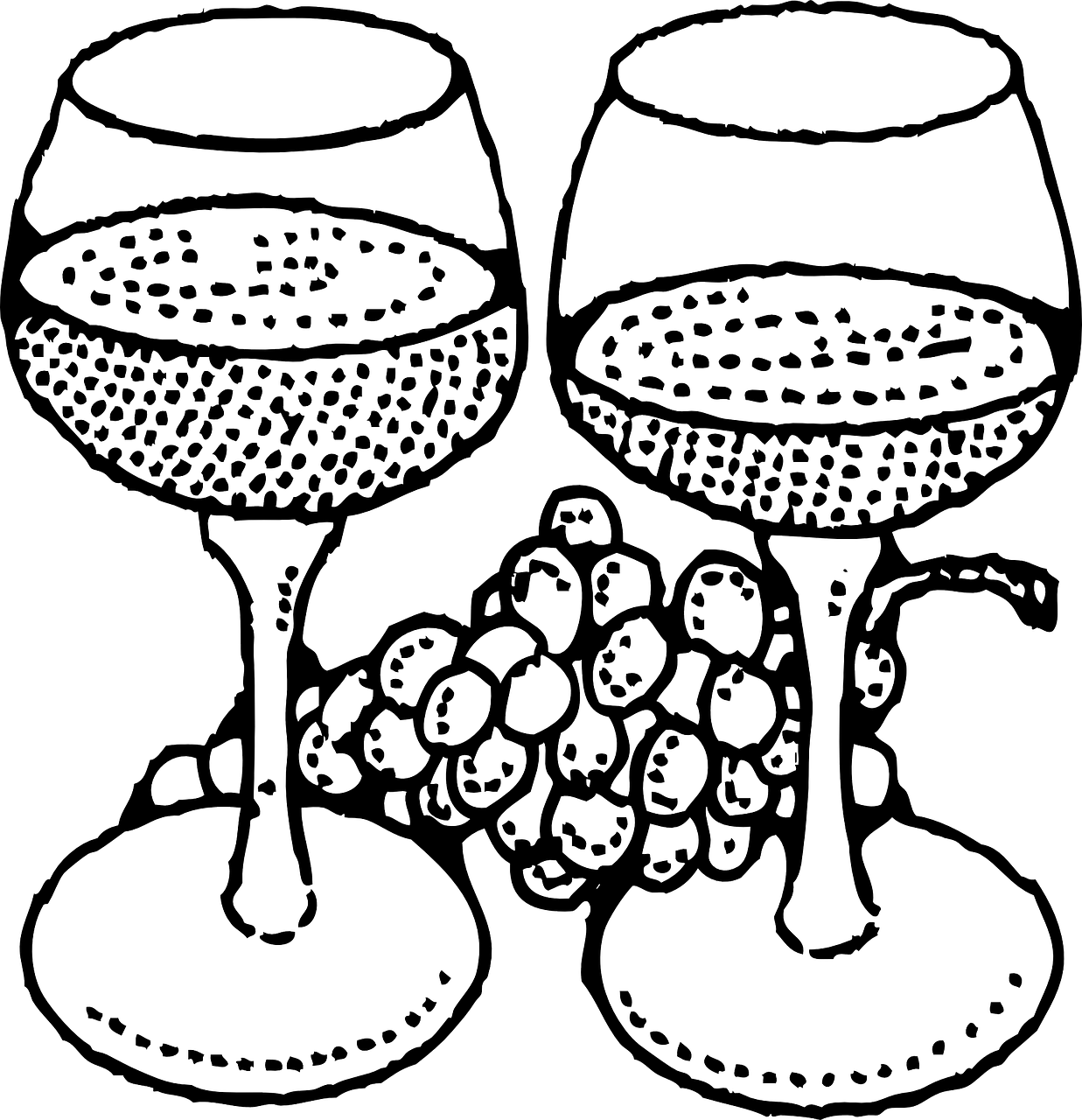 wine glasses wineglass wine glass free photo