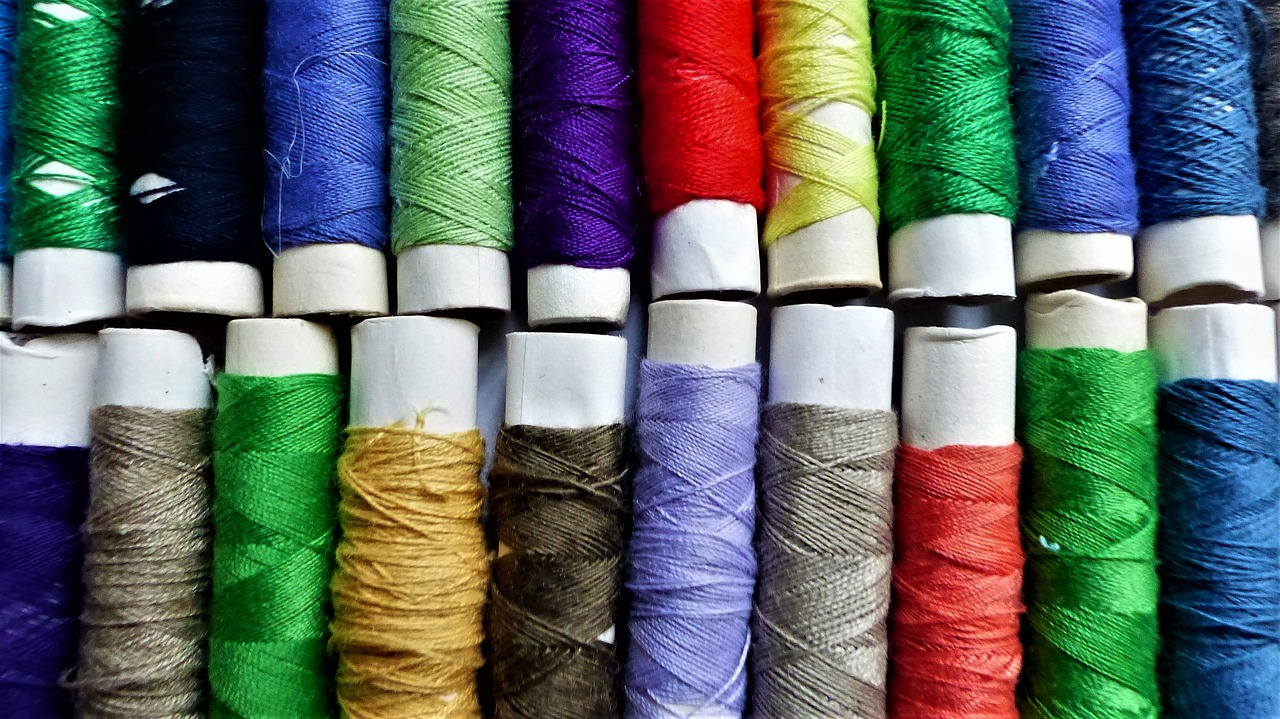 wire, cotton, couture, coil, textile, multicolor, sewing, darning,free pictures, free photos, free images, royalty free, free illustrations, public domain