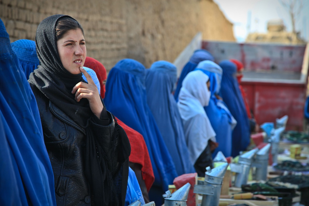 woman afghanistan ceremony free photo