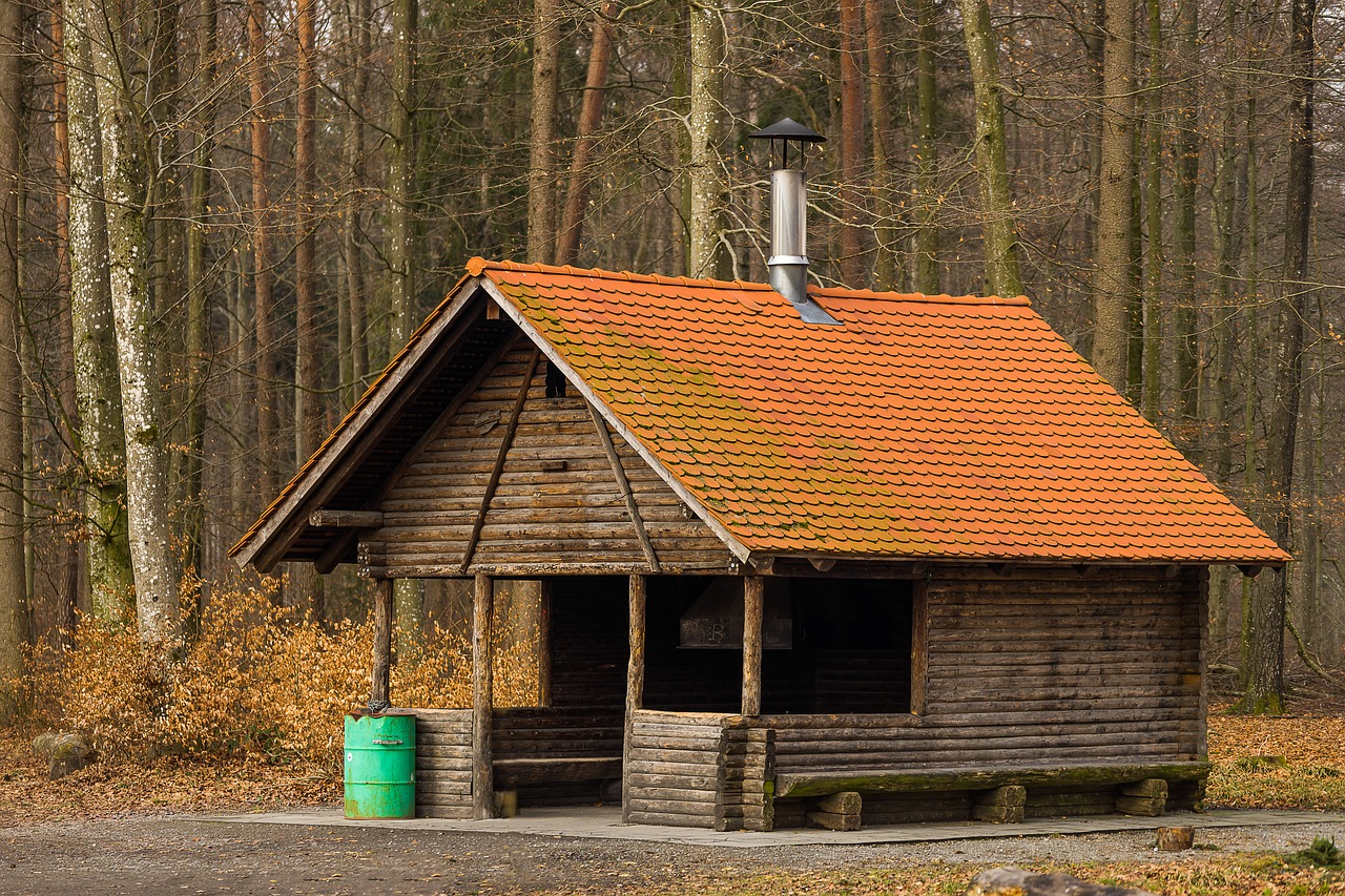 Wood Home Woods Roof Barn Free Photo From Needpix Com