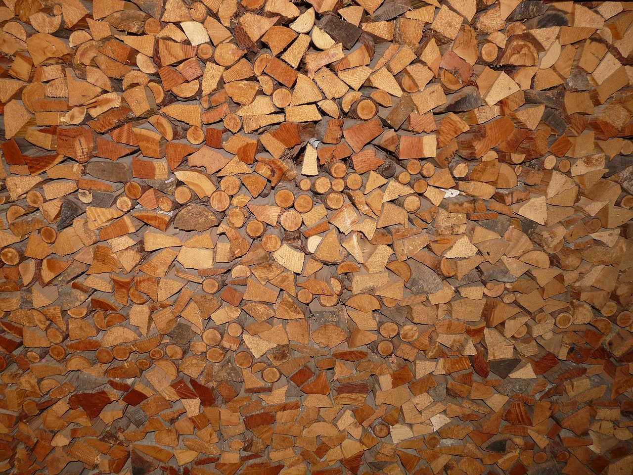 wood holzstapel firewood free photo