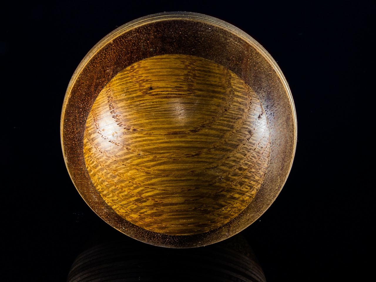 wooden ball turned hand labor free photo