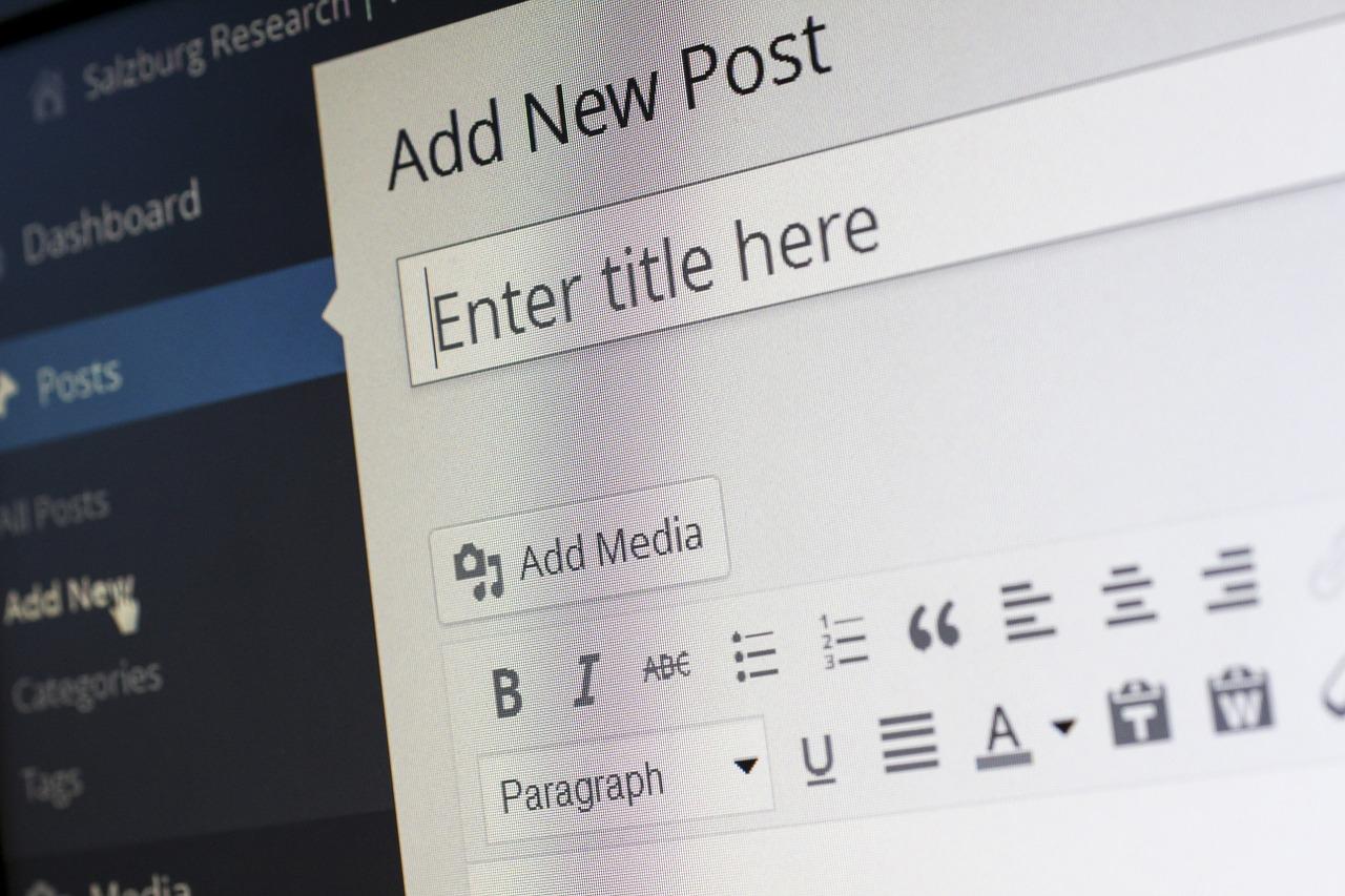 Wordpress Blog Post Cms Free Picture