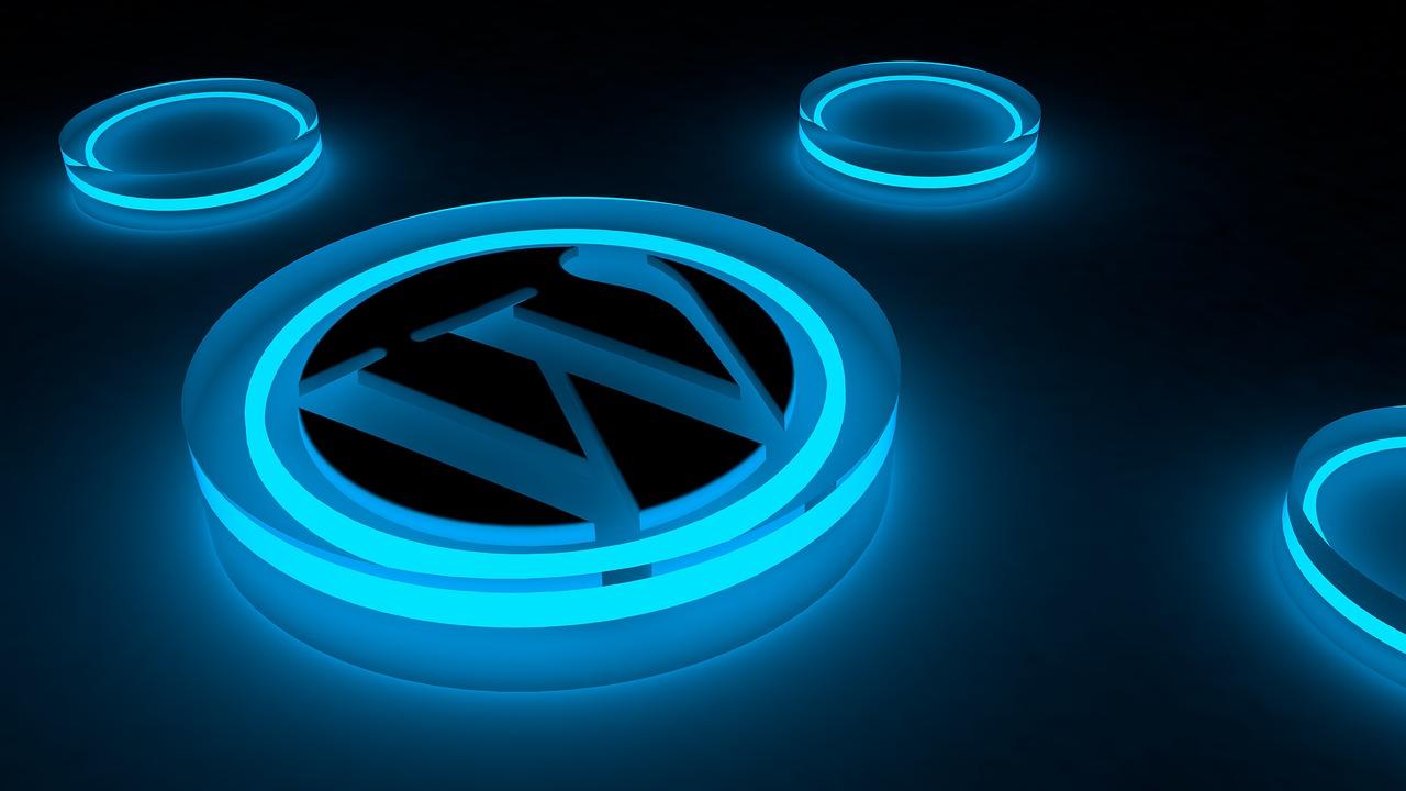 Wordpress, logo, glow, internet, blog - free image from needpix.com