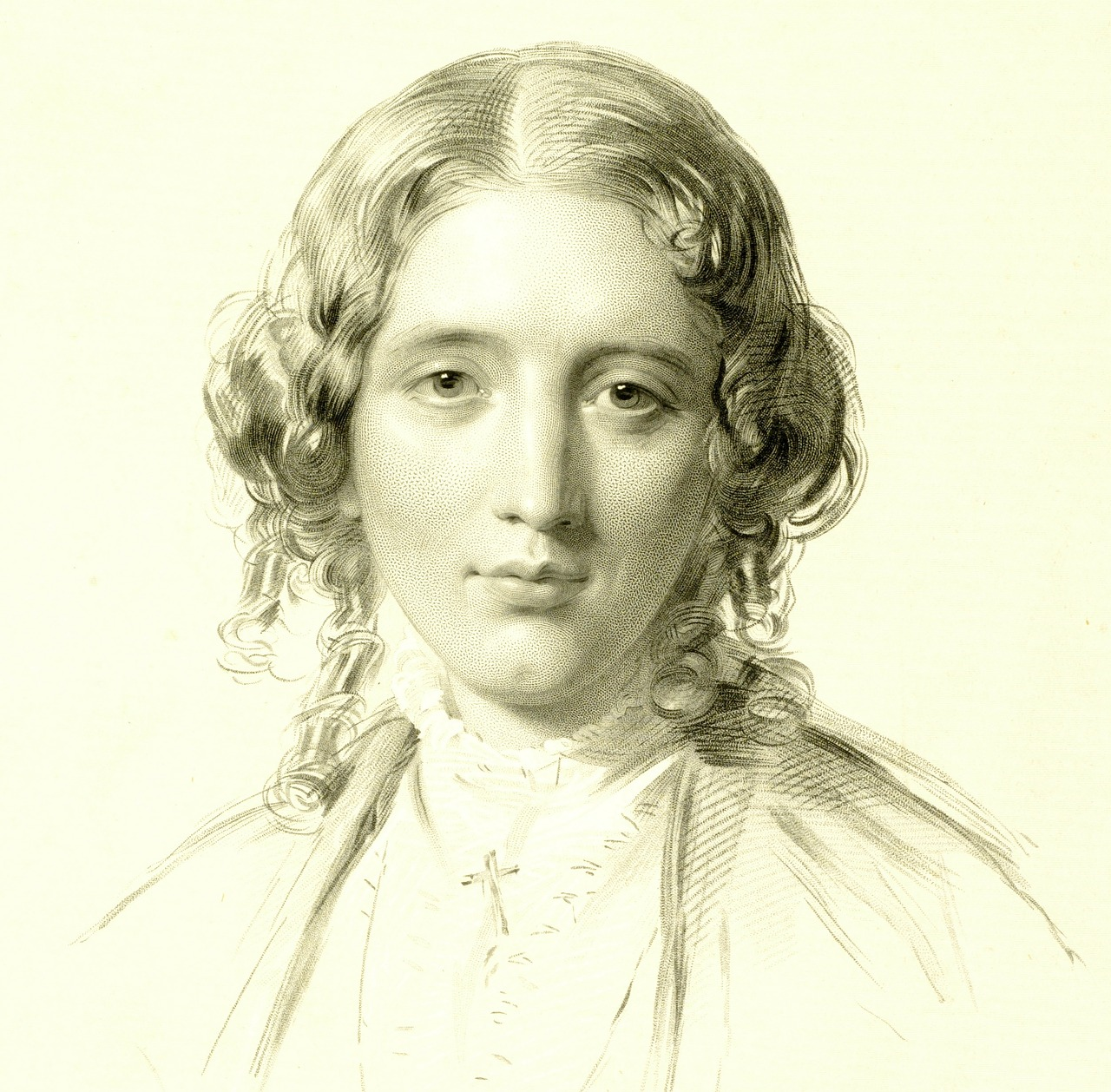writer harriet beecher stowe portrait free photo