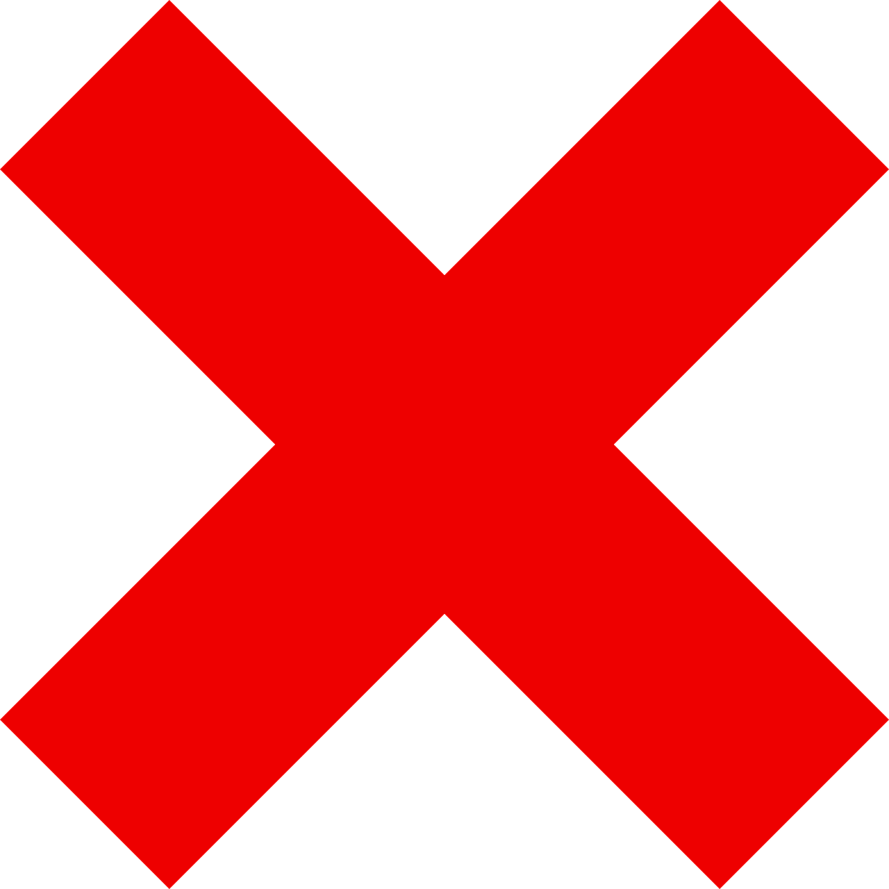 x red mark free photo
