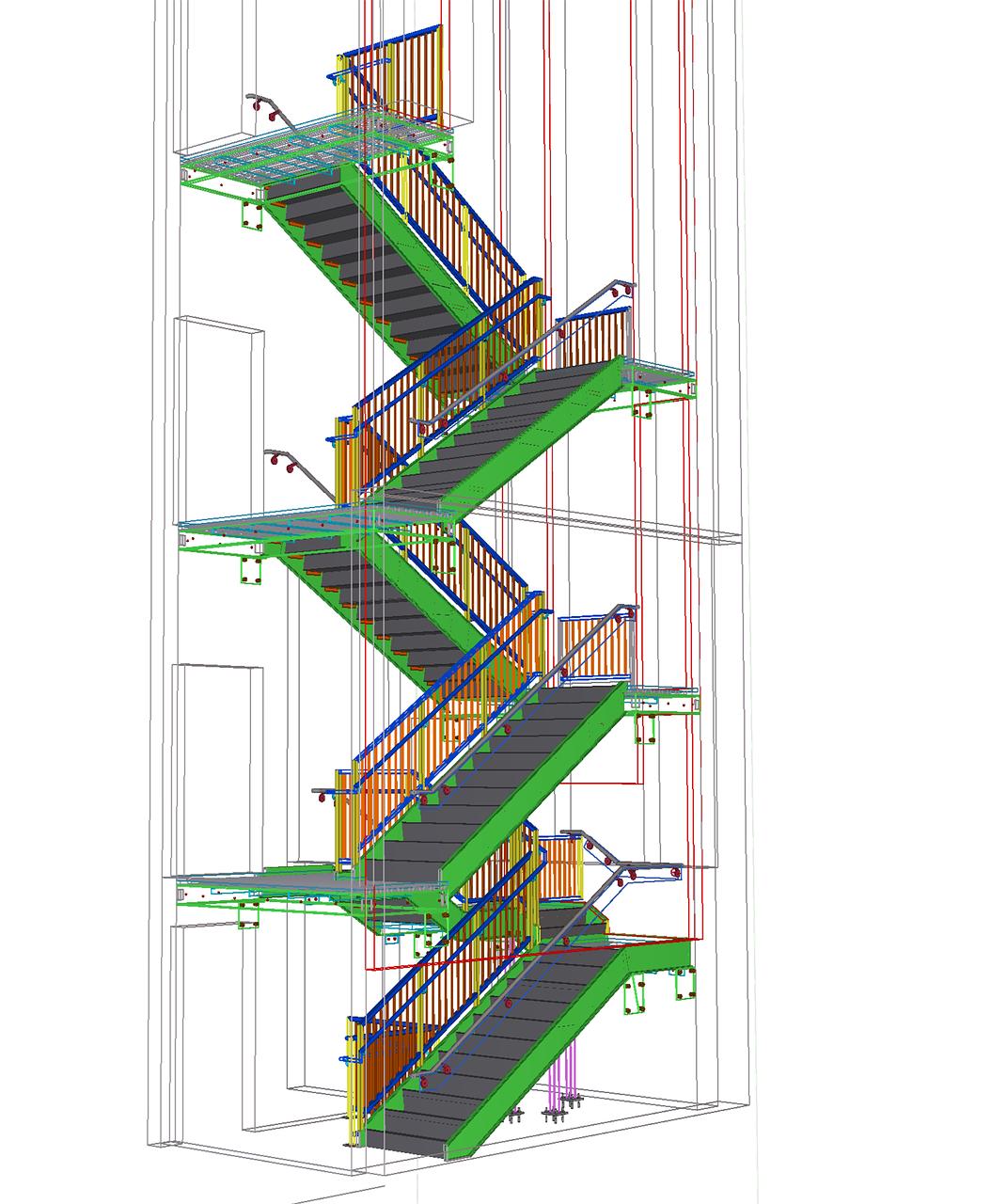 Staircasestairsstairwellarchitectureblueprints Free Photo From