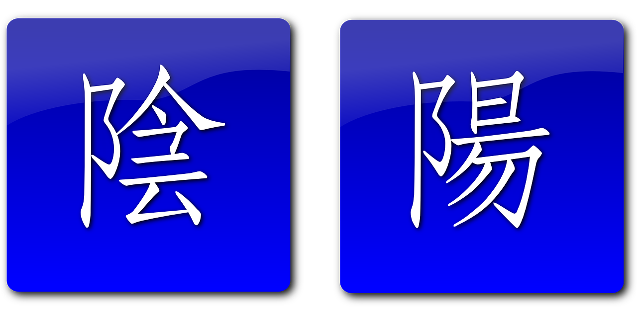 yang yin symbols free photo