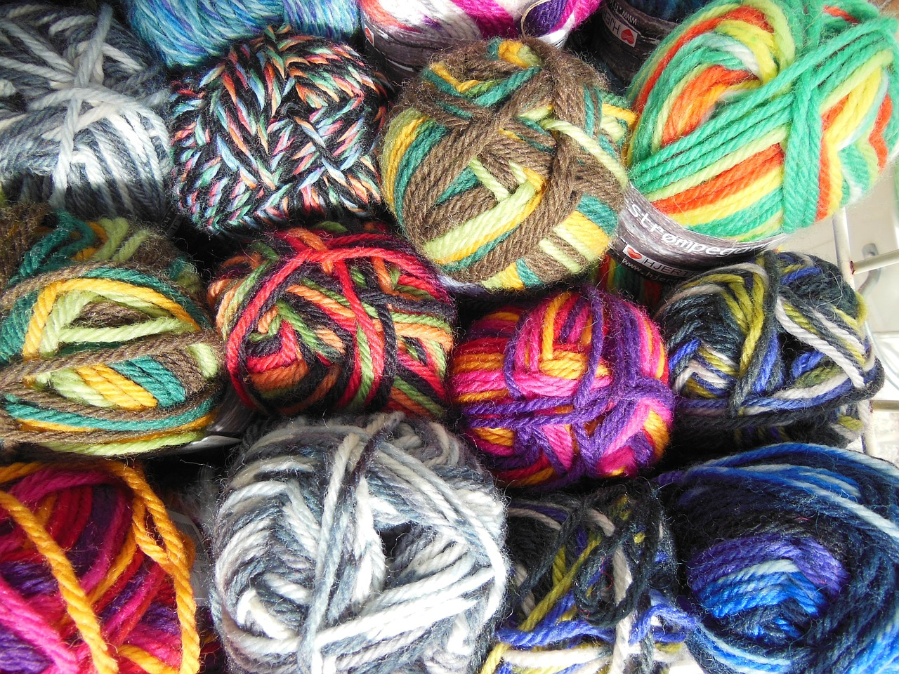 yarn colored multi-colored free photo