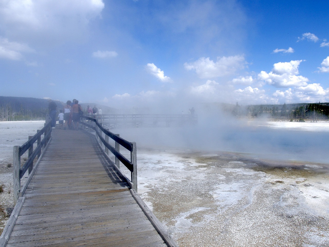yellowstone national park wyoming usa free photo