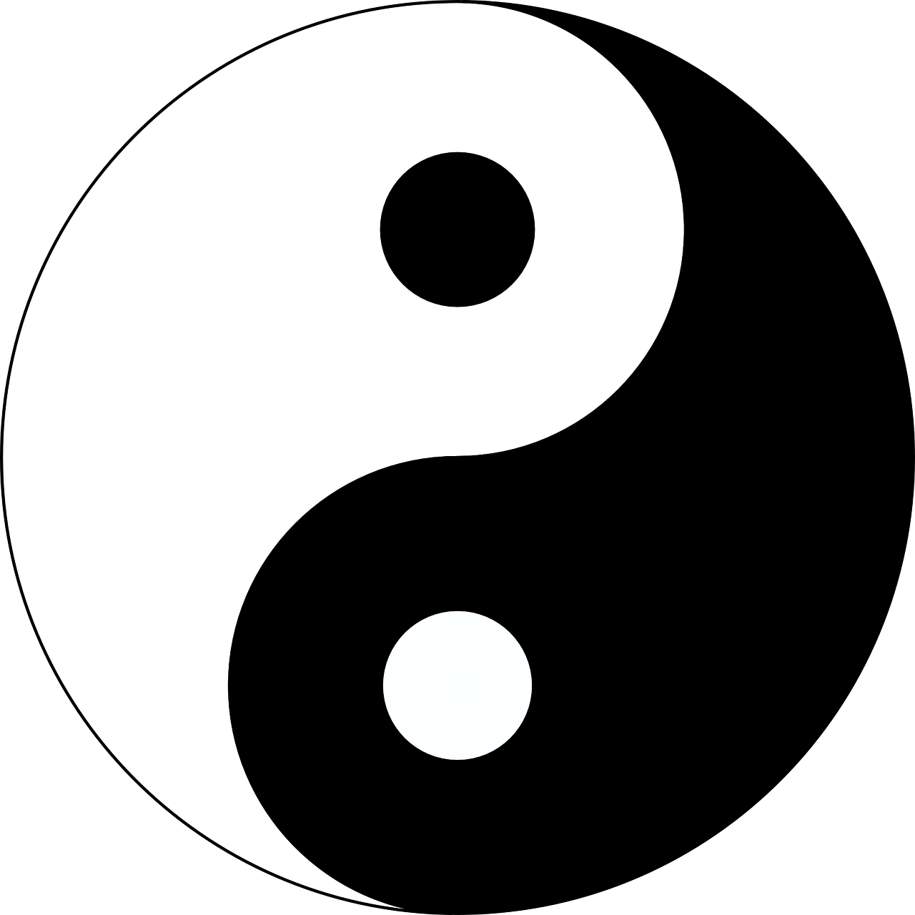 yin yang yin-yang free photo