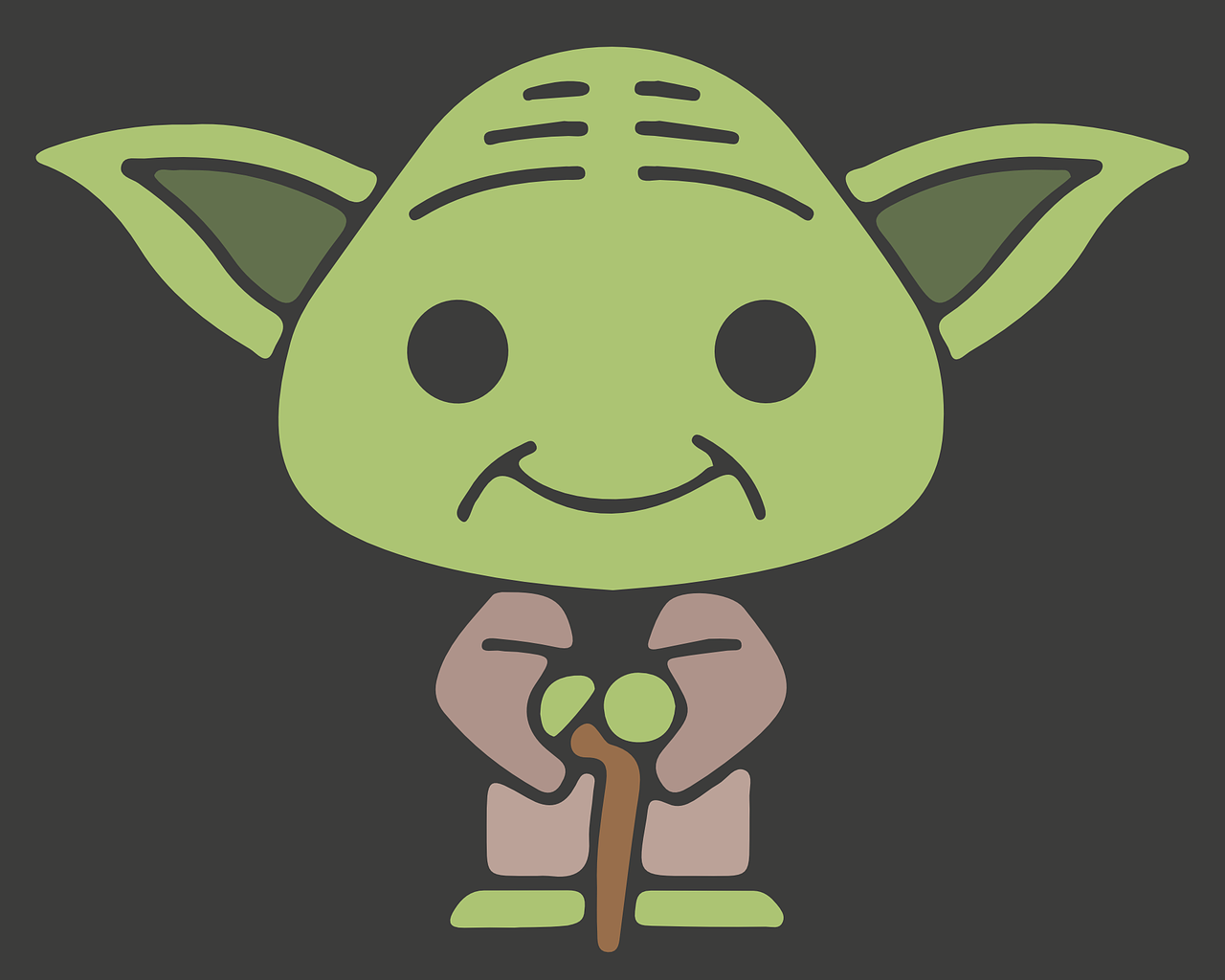 yoda jedi star wars free photo