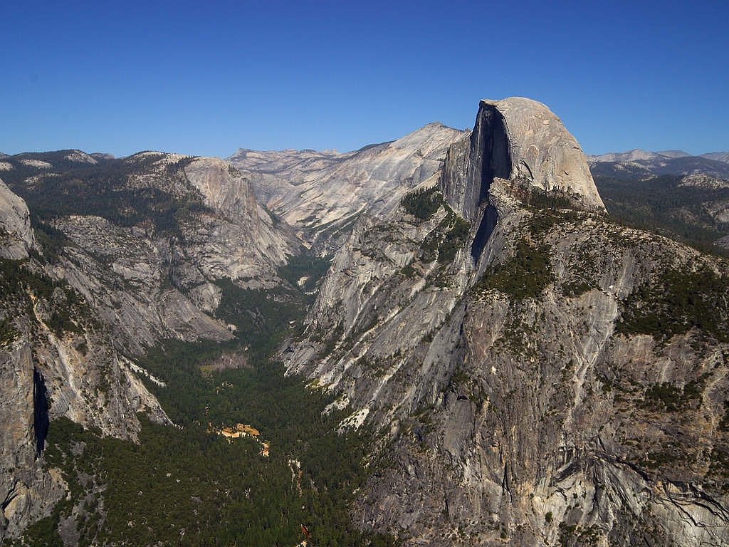 yosemite valley half dome usa free photo