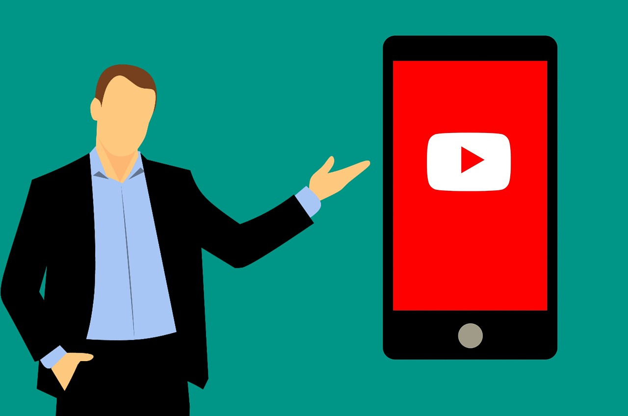 youtube  smartphone  application free photo