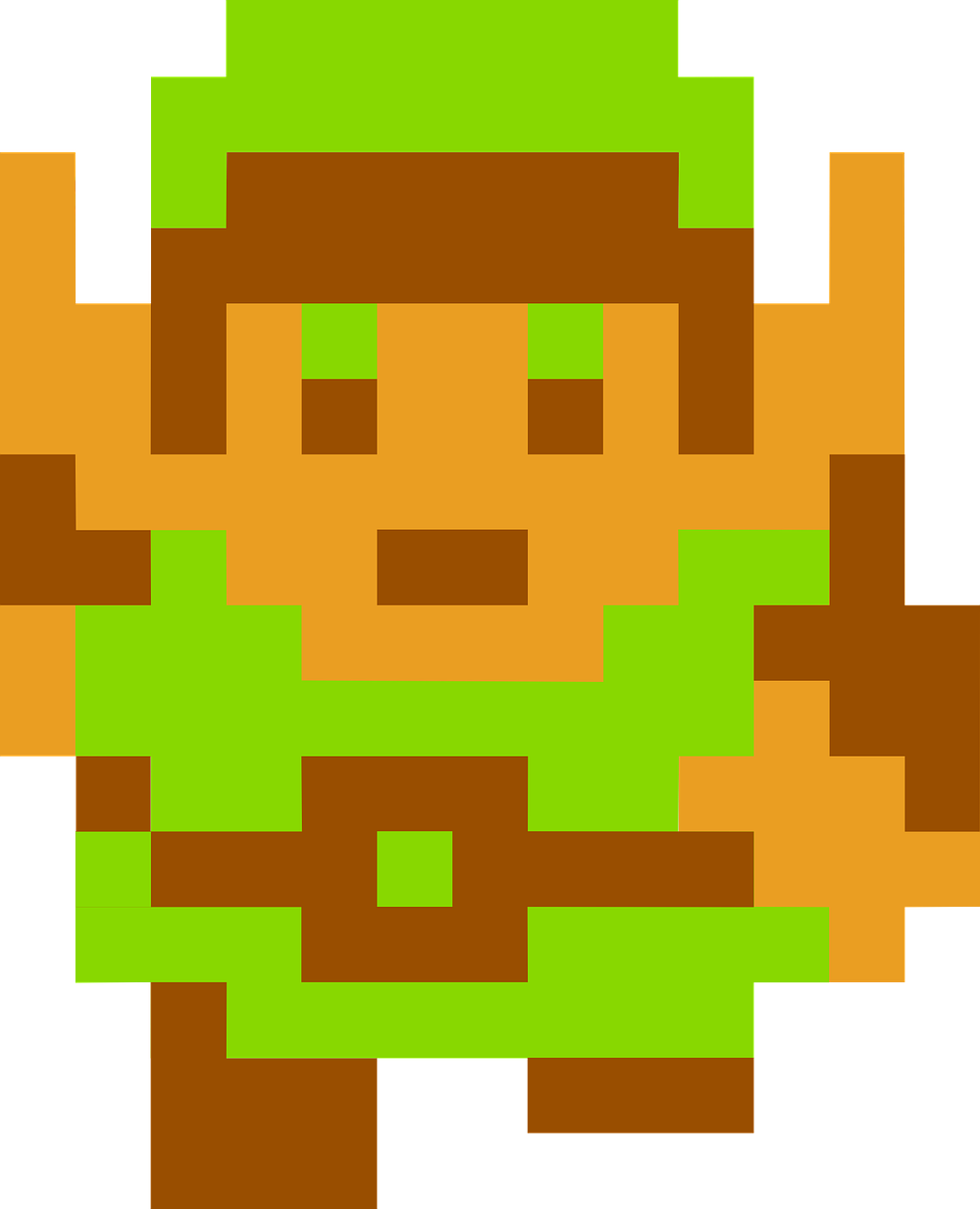 zelda,link,legend,nes,nintendo,famicon,triforce,free vector graphics,free pictures, free photos, free images, royalty free, free illustrations, public domain