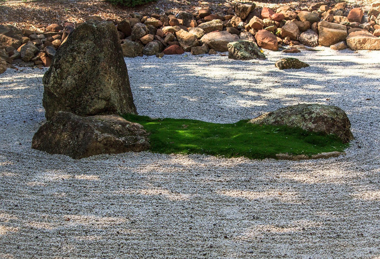 zen garden meditation insight free photo