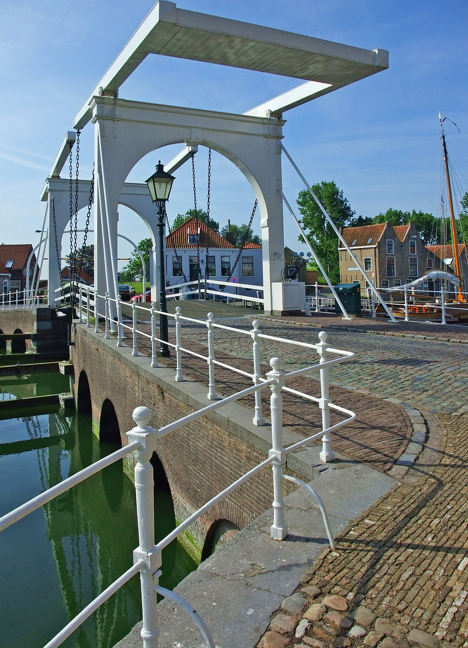 zierikzee netherlands bridge free photo