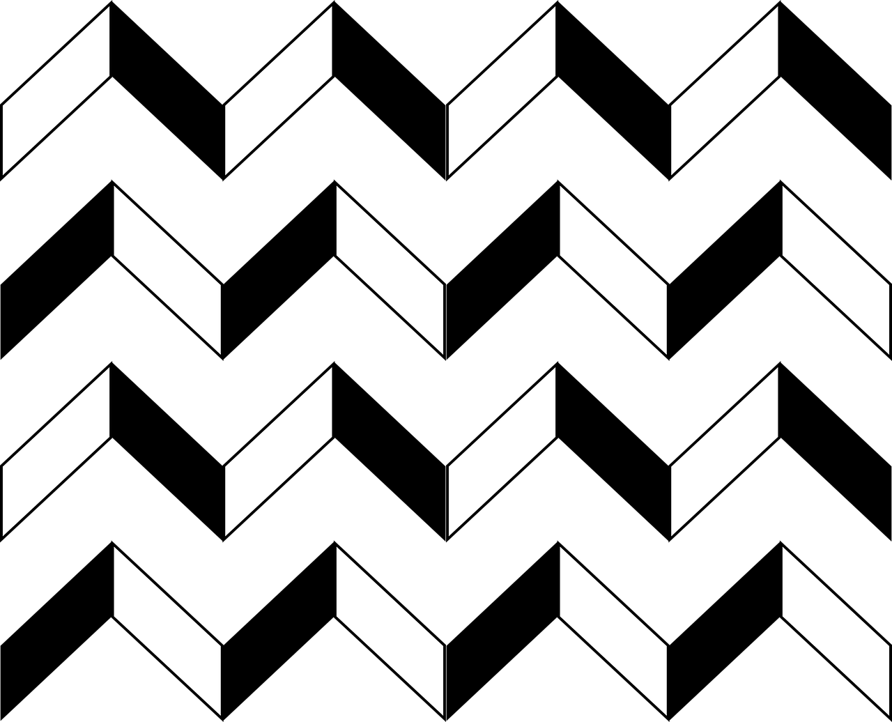 Zigzag,pattern,background,black and white,free vector