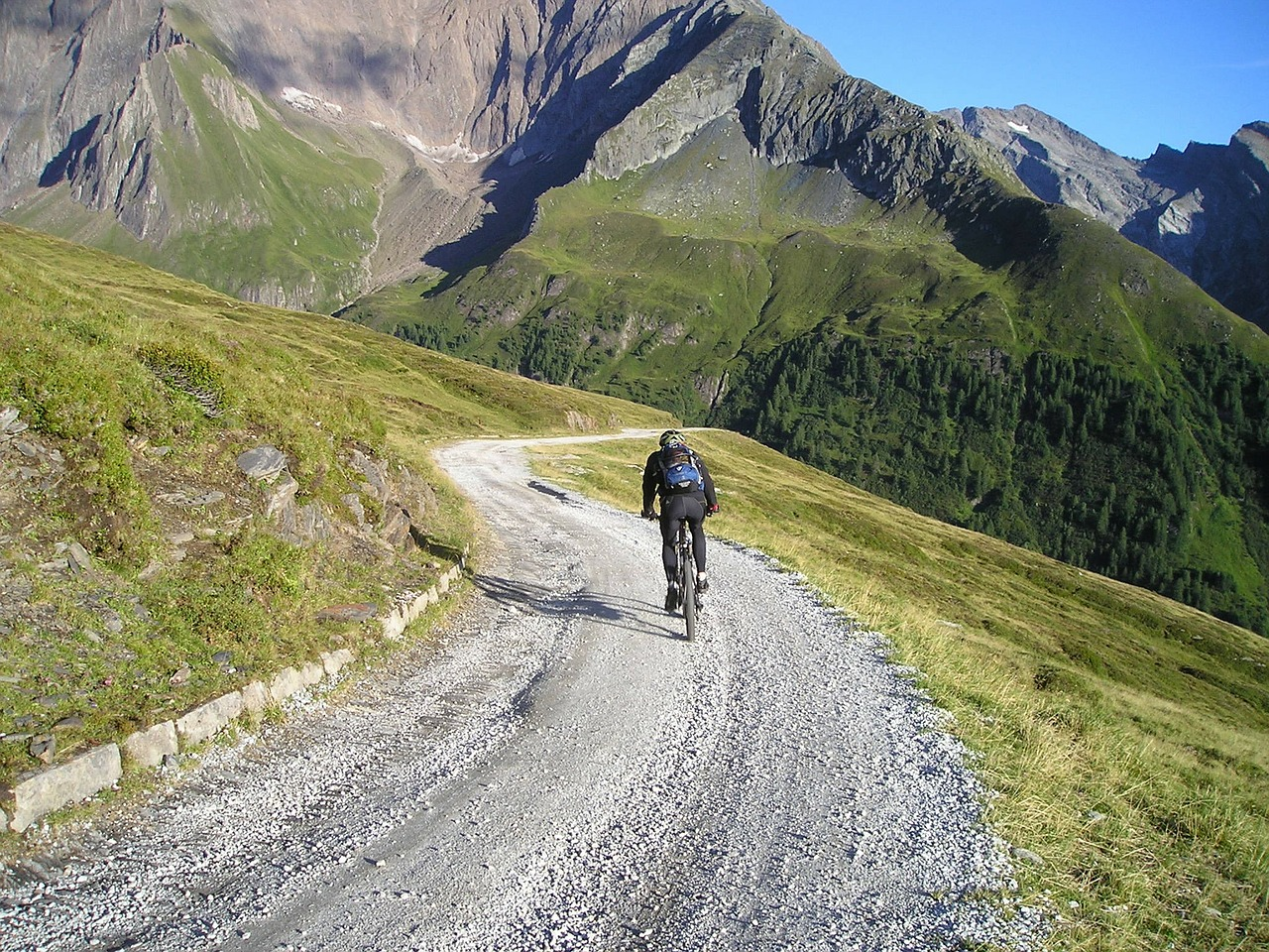 zillertal zillertaler alpen mountain bike free photo